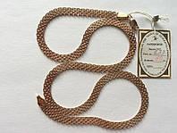 Золотая цепь 585 пробы, бисмарк якорный четырехрядный