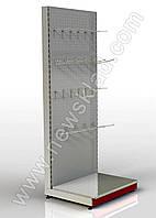 Стелаж прямий приставний перфорований 2350*1200 мм,Стеллаж прямой приставной перфорированный 2350*1200 мм