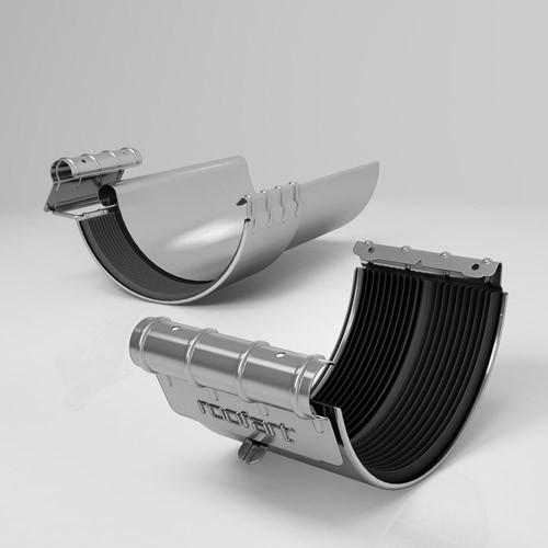 Хомут желоба BJ Roofart Zinc 125 мм