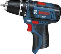 BOSCH GSR 10,8 V-2-LI Professional - Акумуляторний дриль-шупуповерт, картон, Solo