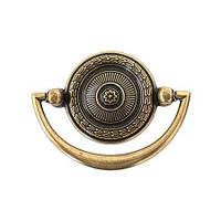 Итальянская классическая ручка URB0-11/07/OV античное золото 48 мм, фото 1
