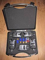 Набор водонепроницаемых сигнализаторов с памятью Amina Fishing Bite Alarms JHA-525-4