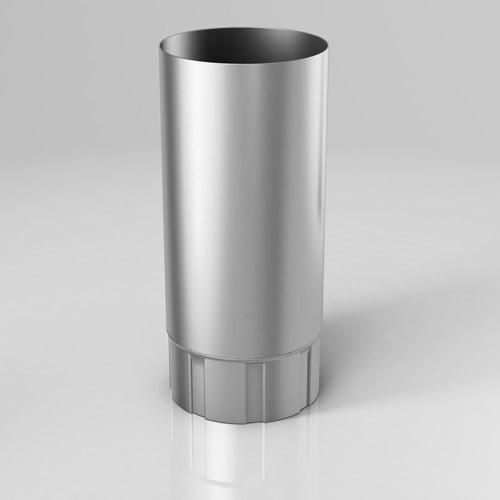 Труба 3 метра BU Roofart Zinc 125 мм