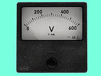 Вольтметр М2001-М1 0-600В с доп.устр. ДС Р-102