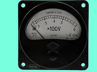 Вольтметр Э8021 0-600В с доп.устр. Р102