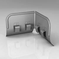 Переливозадержатель PP Roofart Zinc 125 мм