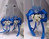 Свадебные бокалы Flowers в ассортименте, фото 5