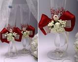 Свадебные бокалы Flowers в ассортименте, фото 6