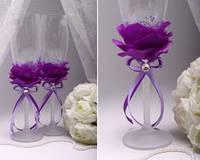 Свадебные бокалы в ассортименте