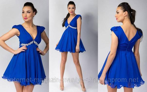 Платье женское с украшением