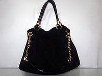 Черная, коричневая, рыжая замевая сумка Bonilarti, фото 1