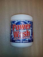 Power Wash Anti-Fleck Weiss Pulver пятновыводитель для белого 600 грамм, фото 1