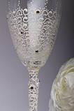 Свадебные бокалы Карамель, фото 3