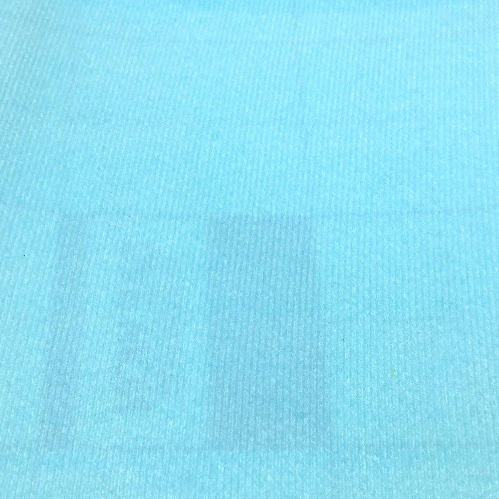 Велкро ткань / VELCRO, Корея, НЕБЕСНО-ГОЛУБАЯ, 45х57 см