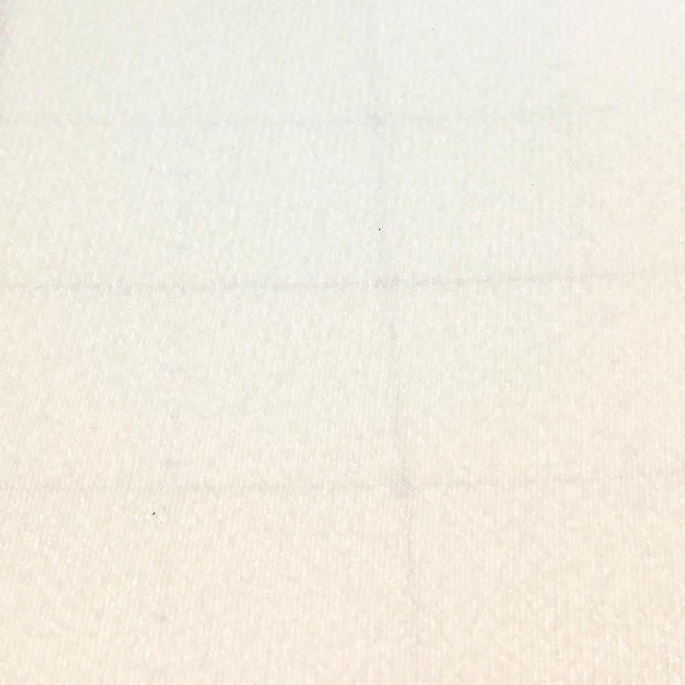 Велкро ткань / VELCRO, Корея, БЕЛАЯ, 57х90 см