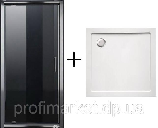 Душевая дверь Eger+Поддон SMC 90x90