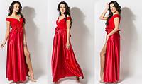 Вечерние платье женское с поясом сьемным