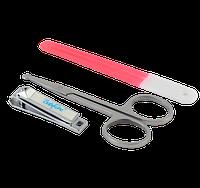 Набор косметический: пилочка, ножницы, щипчики Baby Ono