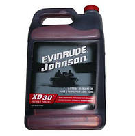 Масло для 2-х тактных лодочных моторов 4 литра XD-30 GALLON Evinrude Johnson