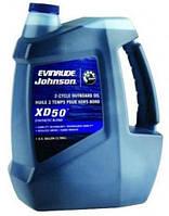 Масло для 2-х тактных лодочных моторов 1 литр XD-50 QUART Evinrude Johnson