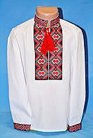 Модная вышитая рубашка для мальчика