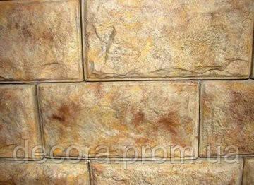 Формы для производства фасадной плитки «Франция Элит» глянцевые пластиковые