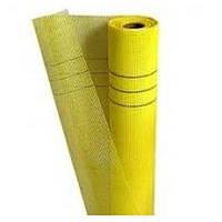 Сітка фасадна жовта Сілтек 1м х 50м.п., 160 гр / м2