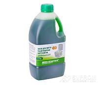 Жидкость КЕМПИНГ для биотуалетов дезодорирующая для верхнего бака, 1,5 л