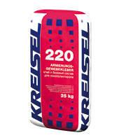 KREISEL 220 Клей для плит из пенополистирола и устройства базового штукатурного слоя (зима), 25 кг.