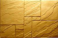 Формы для производства фасадной плитки «Цокольная плита № 4» глянцевые пластиковые