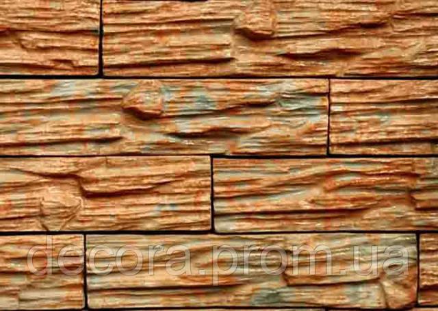 Формы для производства фасадной плитки «Сланец № 2» глянцевые пластиковые