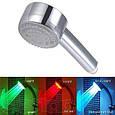 🔥✅ Насадка на душ подсветка для воды 3 цвета улучшенная турбина, фото 2