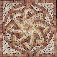 Imso мозаика Imso Ceramiche Pietre Naturali 66х66 rosone modena