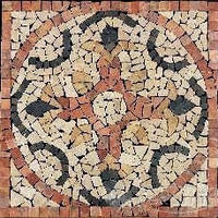 Imso мозаика Imso Ceramiche Pietre Naturali 66х66 rosone rimini