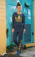 Спортивный костюм Леопадровый адидас АФ, фото 1