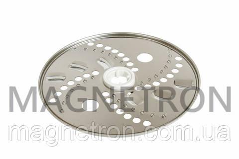 Диск - терка крупная (для дерунов) для кухонных комбайнов Moulinex XF920701