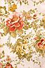 Ткань для штор (портьерная) принтованная. Рисунок: Райский сад. Цвет: пастельный прозовый., фото 2