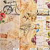 Ткань для штор (портьеры). Рисунок: Уличное кафе., фото 2
