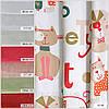 Портьерная ткань для штор. Рисунок: Веселые питомцы., фото 3