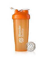 Спортивная бутылка BLENDERBOTTLE стально шарик 820ML оранжевая, яркая