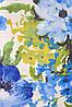 Ткань для штор (портьерная) принтованная. Рисунок: Цветочный бриз. Цвет - мультиколор., фото 2