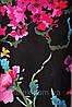 Ткань для штор (портьерная) принтованная. Рисунок: Цветочный бриз. Цвет - мультиколор., фото 5
