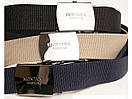 Ремінь чорний тканинний для джинс Montana, фото 8