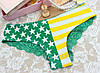 Трусики/Слипы гипюр Victoria's Secret, зеленые
