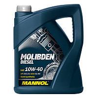 Моторное масло MANNOL Molibden Diesel 10W-40 208л
