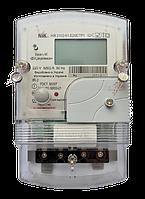 Электрический счетчик многотарифный НИК 2102-01.Е2МСТ 220В (5-60А) с индикаторами магнитного и радио полей