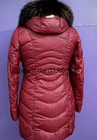 Куртка зимняя женская тёплая с мехом Mishele 8897