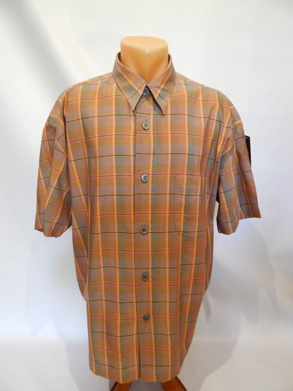 166РК Мужская рубашка с коротким рукавом SIGNUM