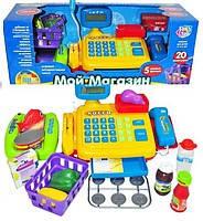 """Кассовый аппарат со сканером детский  """"Мой магазин"""" Joy Toy"""