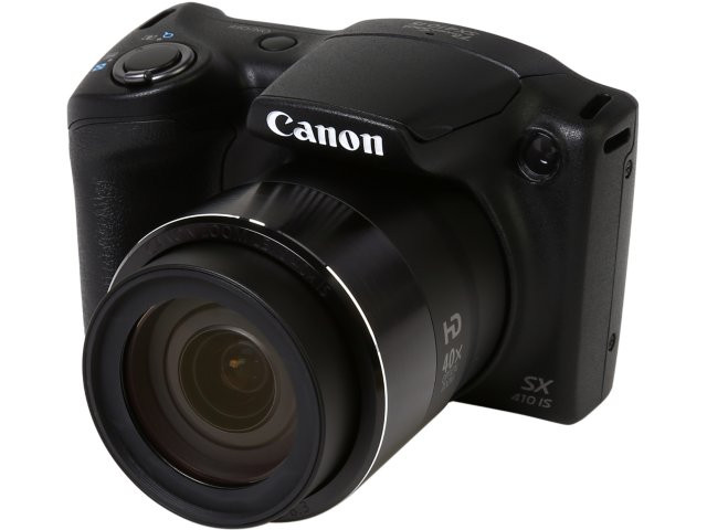 Фотоаппарат Canon PowerShot SX410 IS Black Официальная гарантия + карта памяти 32гб!, фото 1